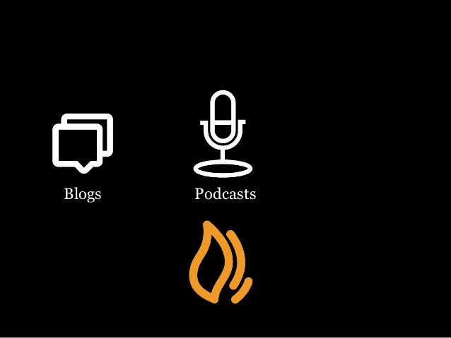 Blogs Podcasts Video