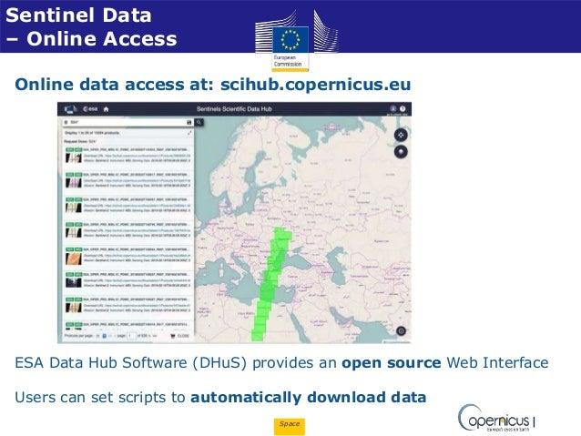 SC7 Workshop 2: Space Data for Secure Societies