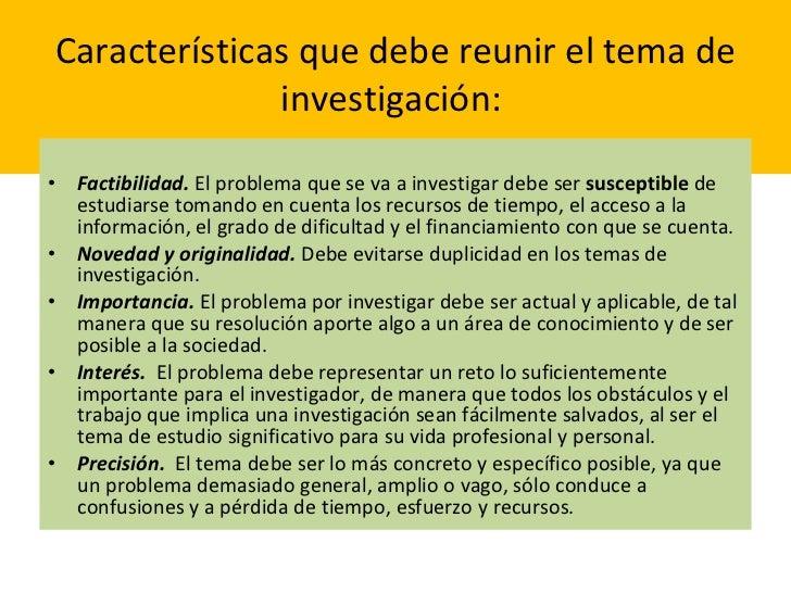 Seleccion y planteamiento problema de investigacion