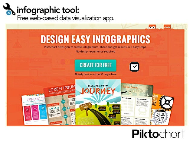infographic tool:  Free web-based data visualization app.