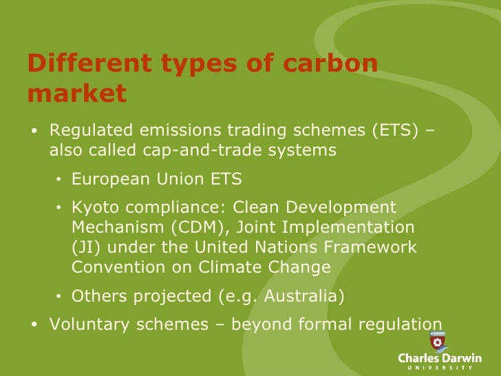 Cap and trade system kyoto protocol