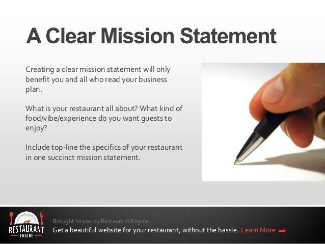 Steps To Building A Restaurant Business Plan
