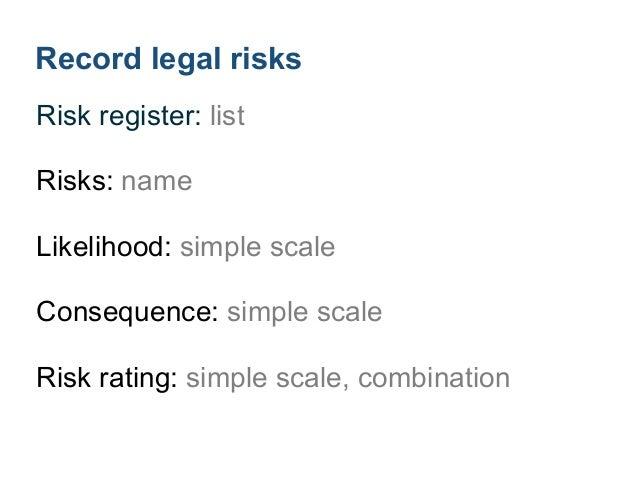 4Analyze legal risks