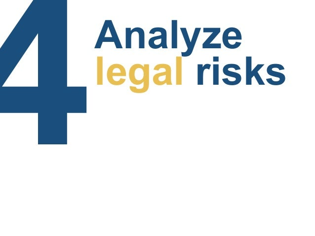 ! Risk analysis is about understanding the risks
