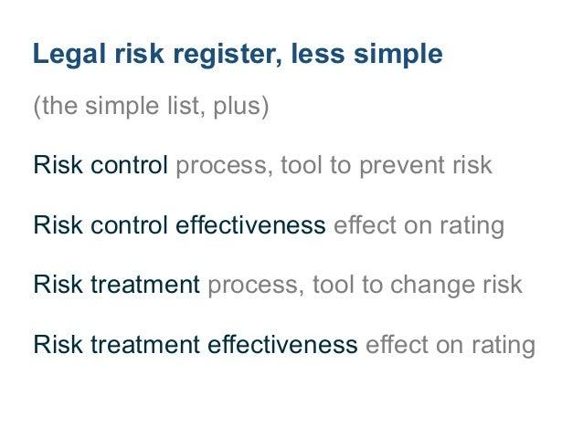 5Evaluate legal risks