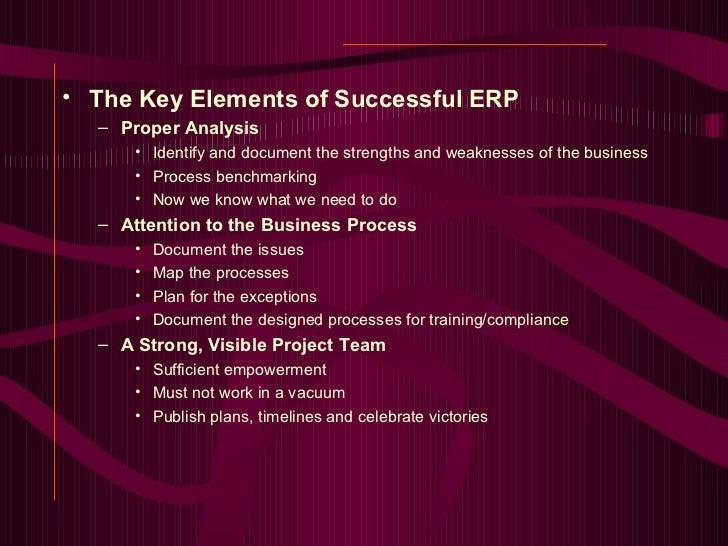 erp success and failure Success and failure of erp 1 the success and failure of erp 2 what  is erp erp (enterprise.