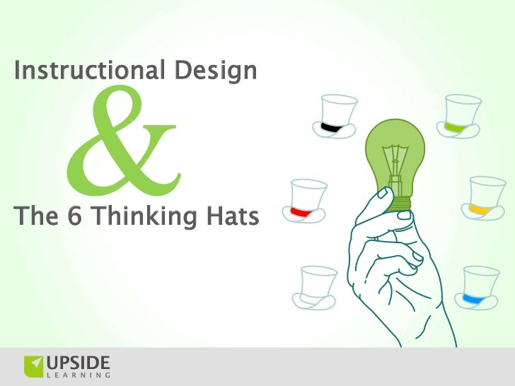 6 Thinking Hats Instructional Design