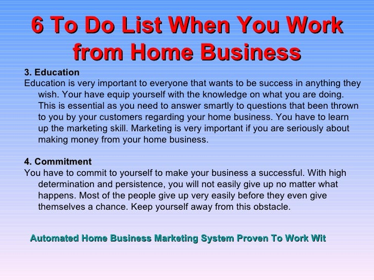 Work-at-Home Businesses