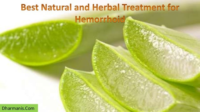 Best Natural External Hemorrhoid Treatments