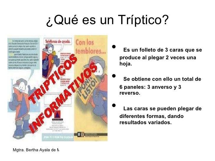 6 tripticos en el aprendizaje for Funcion de un vivero escolar