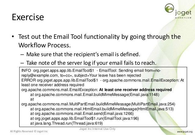 Joget Workflow v5 Training Slides - Module 6 - Using your