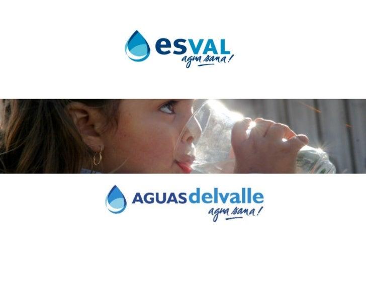 Contenidos     Industria Sanitaria en Chile     ESVAL – AGUAS DEL VALLE     Diagnóstico Certificación Sostenible del Agua