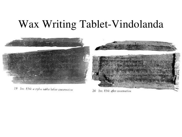 6 f2011 vindolanda letters wax writing tablet vindolandabr stopboris Images