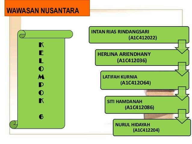 6 Wawasan Nusantara