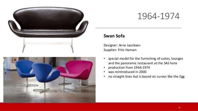 Swan chair history lnestol lder atlanta history center for Schwan sessel replica
