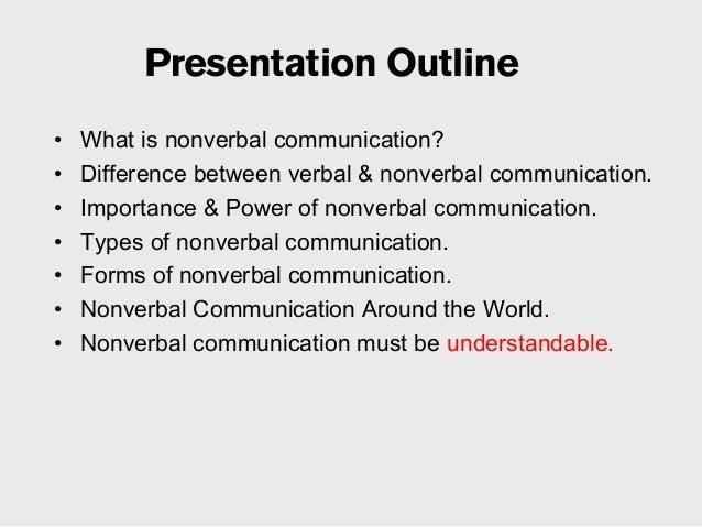 non-verbal communication Slide 3