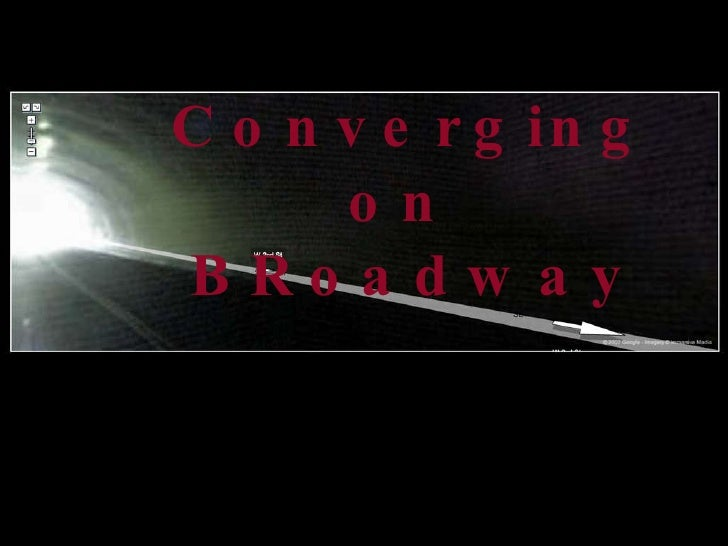 Converging on  BRoadway Medium Specificity    and Convergence