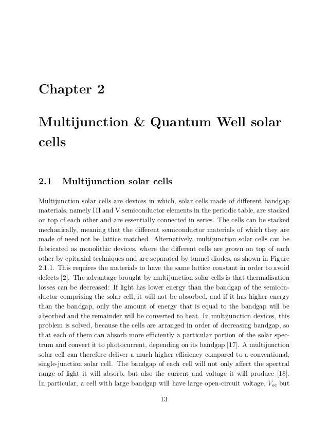 Quantum thesis