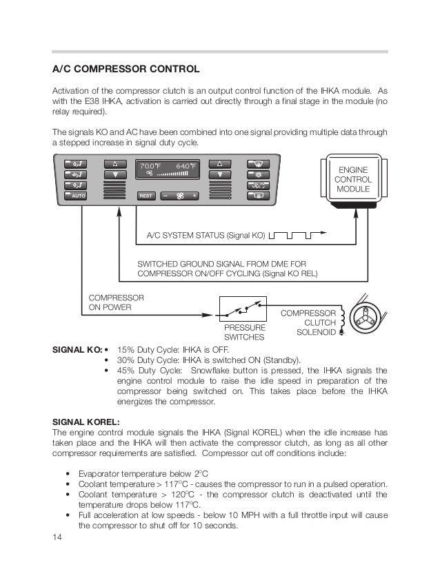 13 14 Ac Compressor Controlactivation: BMW C Pressor Wire Diagram At Shintaries.co