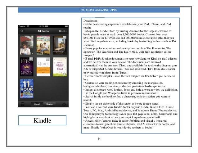 600 most amazing apps pdf 44 fandeluxe Gallery
