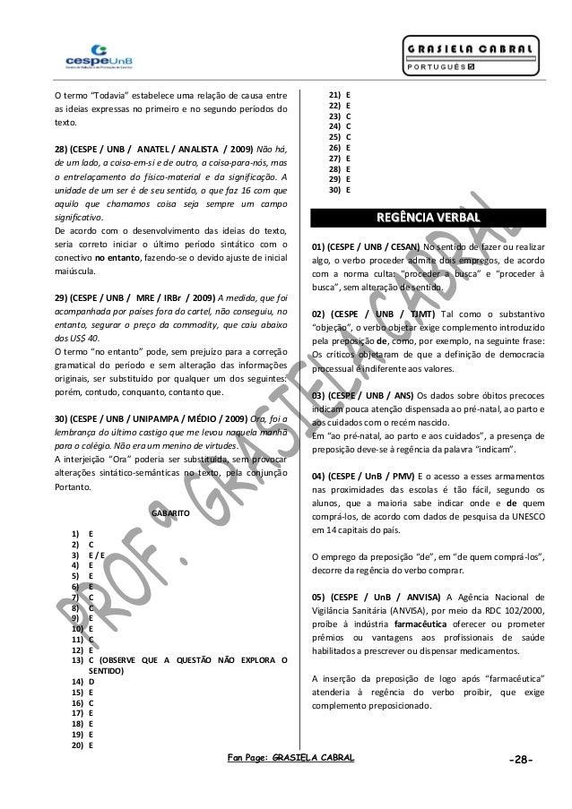 600 questões cespe   portugues -  grasiela cabral