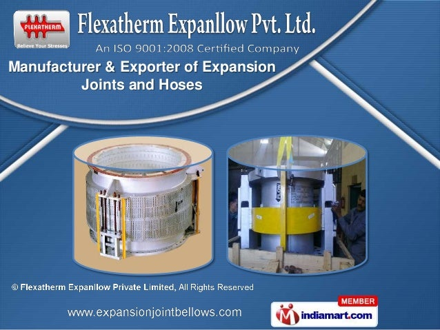 Manufacturer & Exporter of Expansion         Joints and Hoses