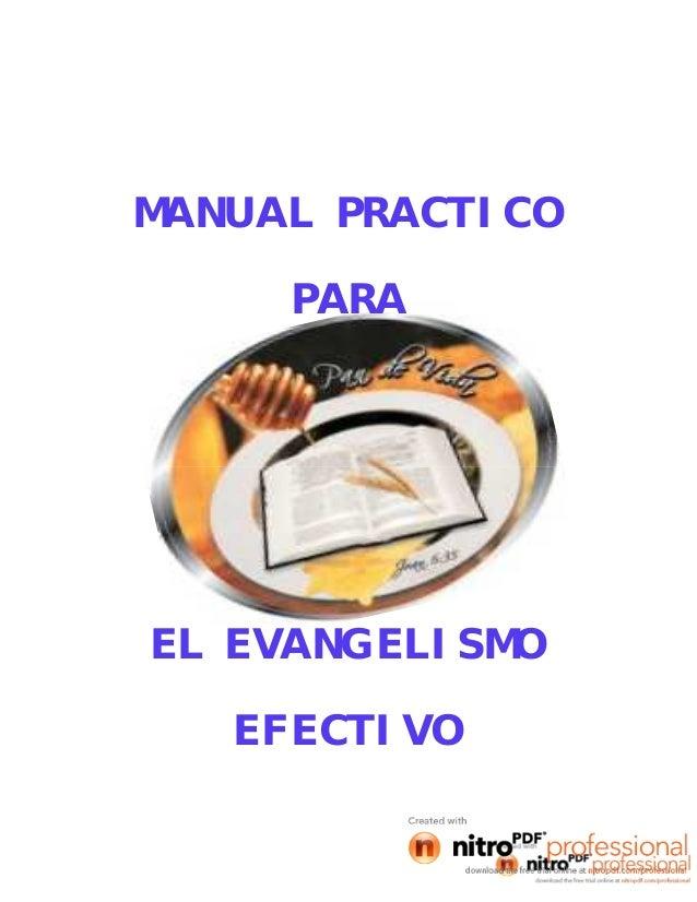 1MANUAL PRACTICOPARAEL EVANGELISMOEFECTIVO