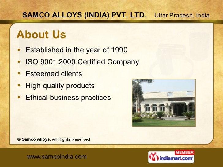 About Us <ul><li>Established in the year of 1990 </li></ul><ul><li>ISO 9001:2000 Certified Company </li></ul><ul><li>Estee...