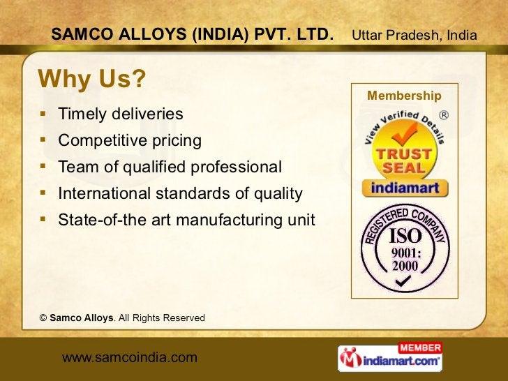 Why Us? <ul><li>Timely deliveries </li></ul><ul><li>Competitive pricing </li></ul><ul><li>Team of qualified professional <...