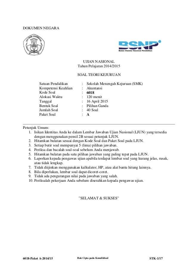 6018 Stk Paket A Akuntansi