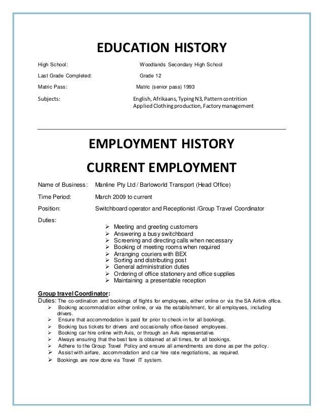 Curriculum Vitae Nicola