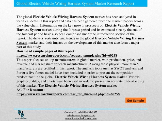 global electric vehicle wiring harness system market research report 2 global electric vehicle wiring harness system