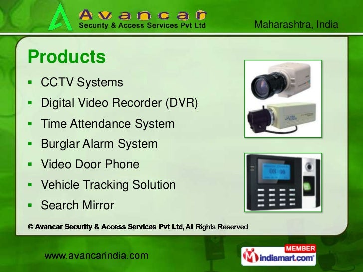 Surveillance System And Automation System By Avancar
