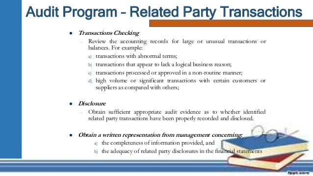 Presentation   Audit Program  Procedure