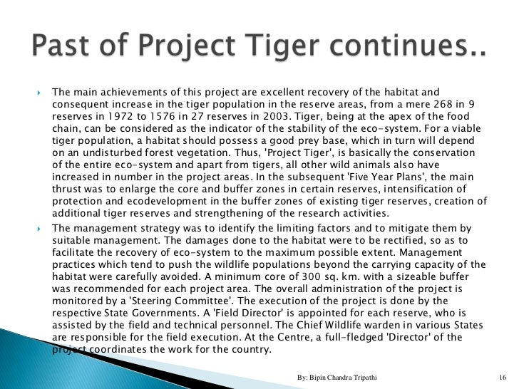 tiger project for high school students by bipin chandra tripathi 15 16