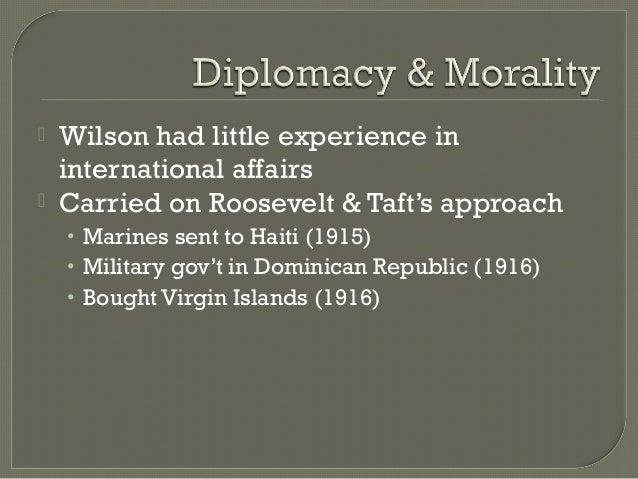 """""""Big Stick"""" Diplomacy"""