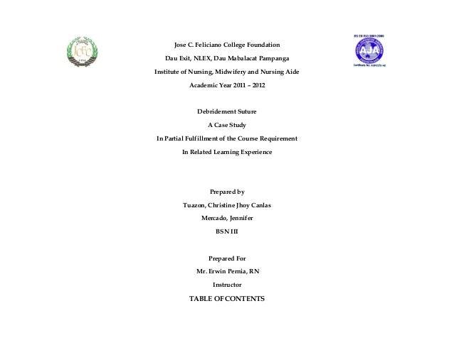 Jose C. Feliciano College Foundation Dau Exit, NLEX, Dau Mabalacat Pampanga Institute of Nursing, Midwifery and Nursing Ai...