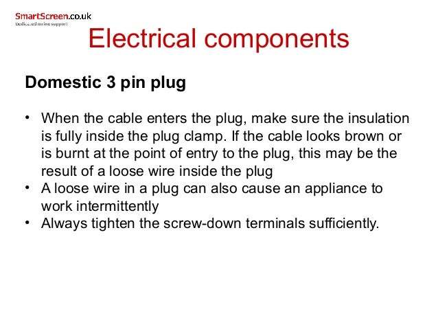 Components used in electrical installations