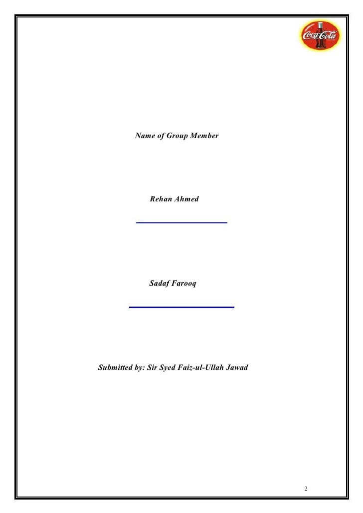Marketing Management Final Report