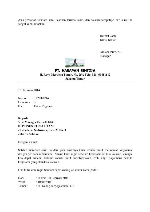 Contoh Surat Balasan Email Dalam Bahasa Inggris Feed News