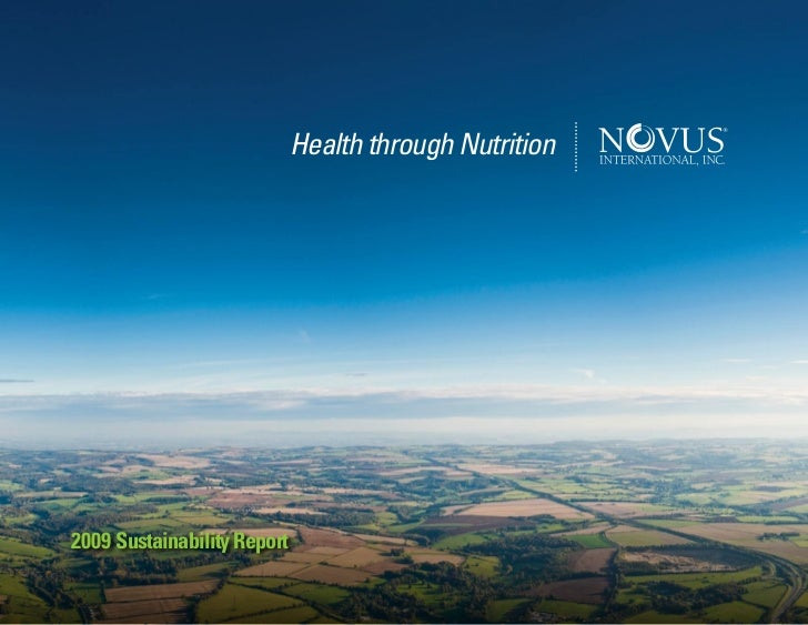 Health through Nutrition2009 Sustainability Report