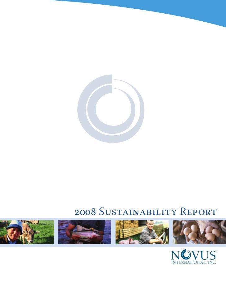 2008 Sustainability Report