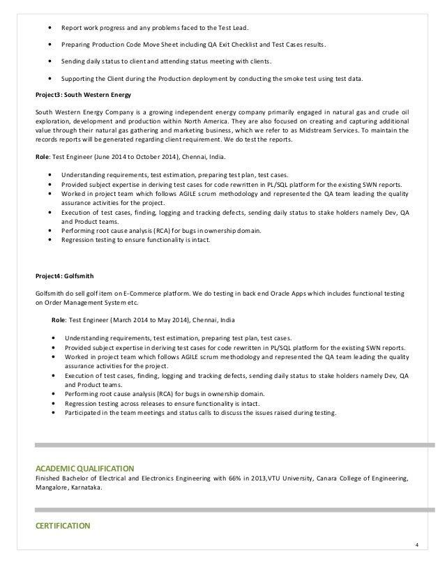Test Engineer Resume - Contegri.com