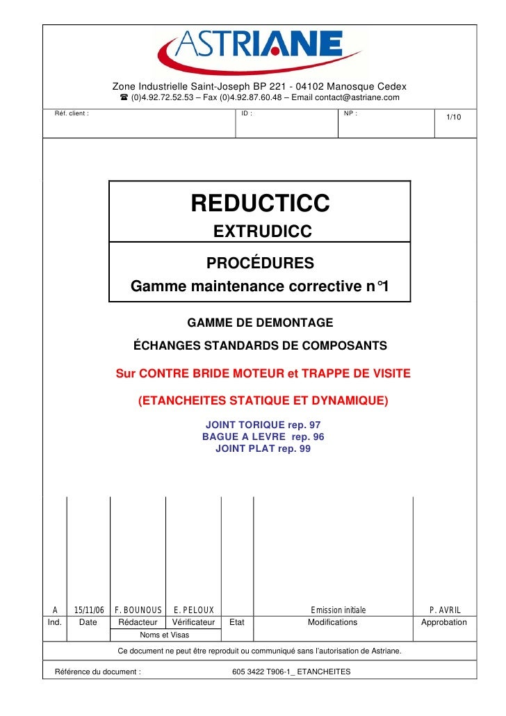 Zone Industrielle Saint-Joseph BP 221 - 04102 Manosque Cedex                        (0)4.92.72.52.53 – Fax (0)4.92.87.60.4...