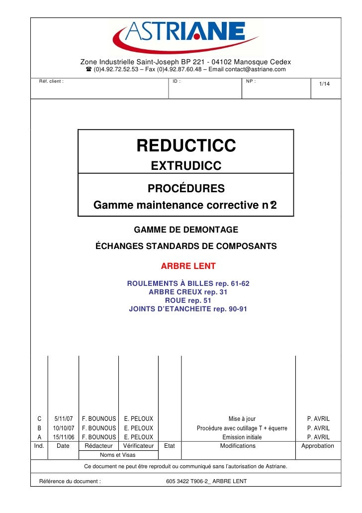 Zone Industrielle Saint-Joseph BP 221 - 04102 Manosque Cedex                         (0)4.92.72.52.53 – Fax (0)4.92.87.60....
