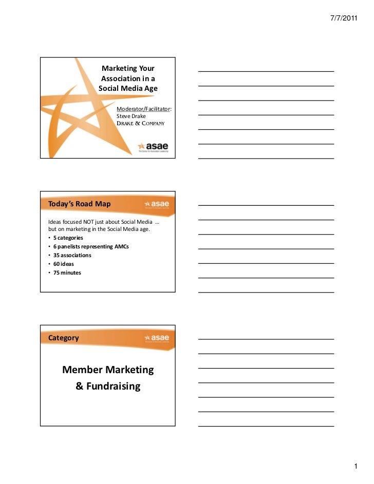 7/7/2011                     MarketingYour                     Associationina                    SocialMediaAge     ...