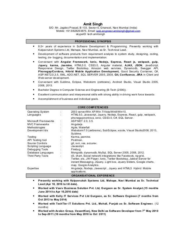 AmitSingh_updated resume