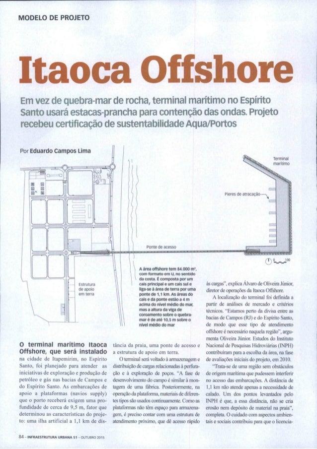 2015 Infraestrutura Urbana Aqua-Portos