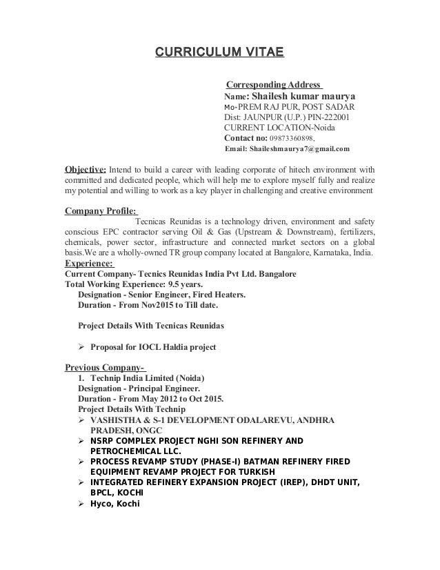 shailesh resume