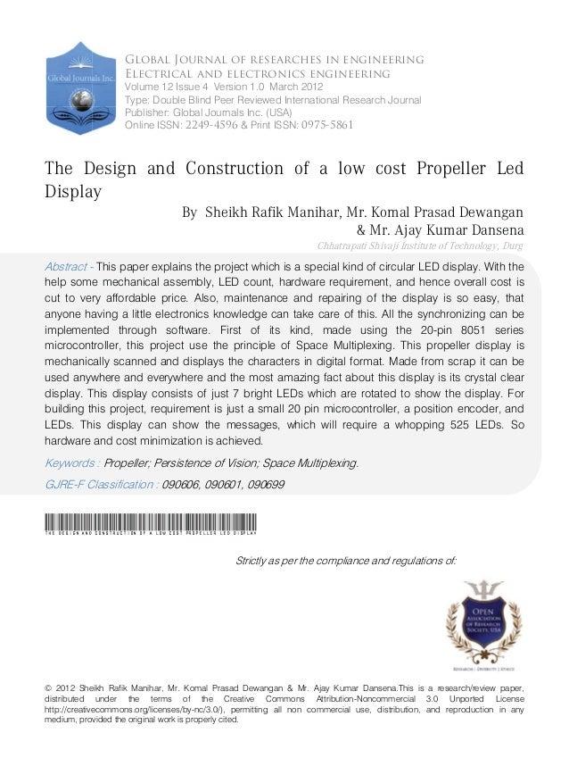 © 2012 Sheikh Rafik Manihar, Mr. Komal Prasad Dewangan & Mr. Ajay Kumar Dansena.This is a research/review paper, distribut...